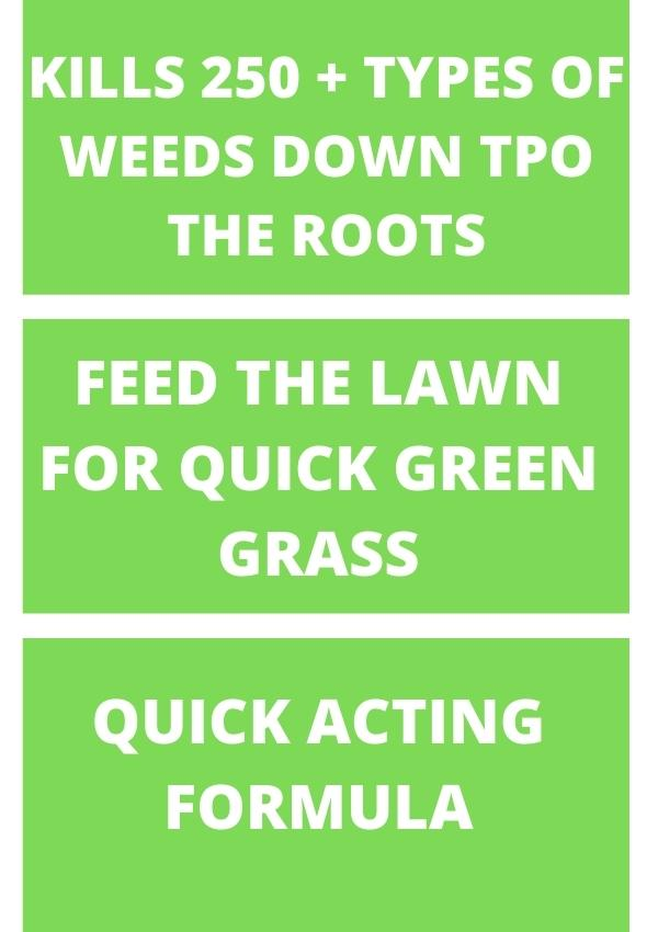 WEED AND FEED FOR GRASS